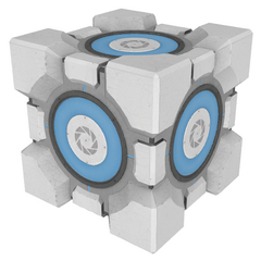 New Weighted Storage Cube as seen in <i>Portal 2</i>.