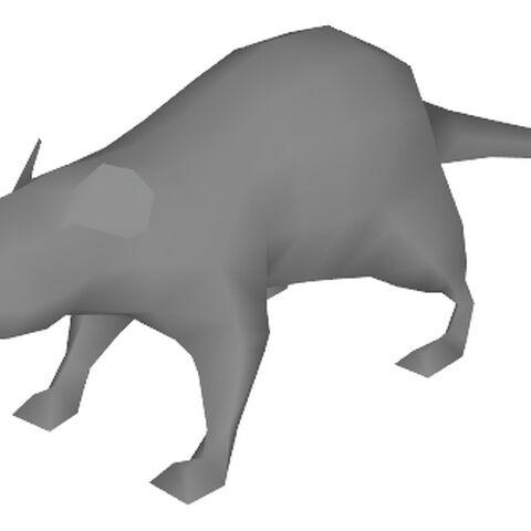 Rat model cut from <i>Half-Life 2</i>.