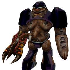 A HD Alien Grunt model.