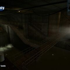 Sub-Exit of the canal breach Screenshot.