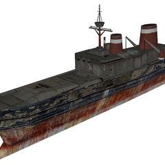 Cut shipwreck.