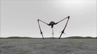 Combine Strider - Animations