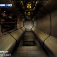Tunnel area of Captive Freight Chapter Concept.
