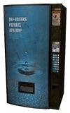 Vending machine blue