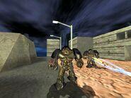 Beta Alien Grunts firing
