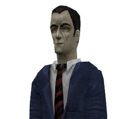 HD model used in  <i>Opposing Force</i> and <i>Blue Shift</i>, slightly smiling.