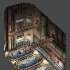 Another Concept Art of the underground facility.