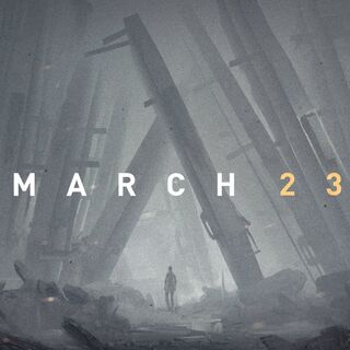 Image revealing the game's release date.