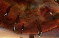 Overworld through portal