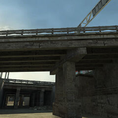 Overpass in the map