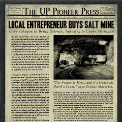 Front page of <i>The Up Pioneer Press</i>.