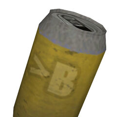 The yellow soda can from <i>Episode Two</i>.