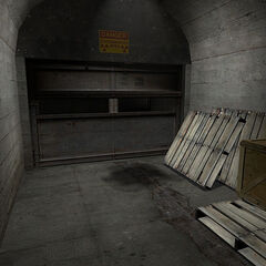The entrance to Ravenholm at <a href=