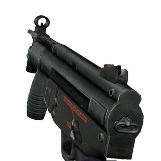 Reload animation of the MP5K