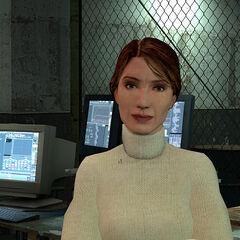 Judith Mossman at Black Mesa East.