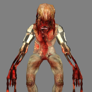 The Front of the Zombie Assassins original model.