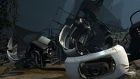 Glados destruction