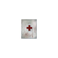 Unused first aid locker texture.