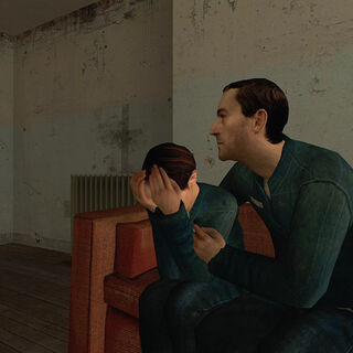 Another view of the first <i>Half-Life 2</i> appearance.