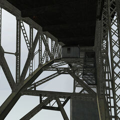 Under the bridge in the playable Beta.