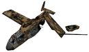 Crashed osprey