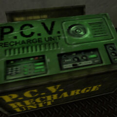 PCV Charger in the Armory.