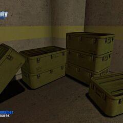 Military Storage Supplier Model.