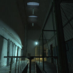 An image of cell block A3 in Nova Prospekt.