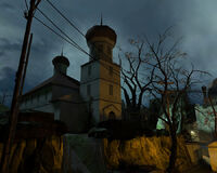 Ravenholm church