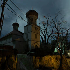 Ravenholm's church.