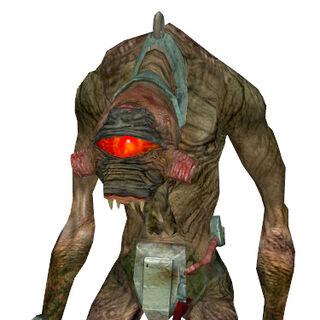 <i>Half-Life 2</i> model, slave version.