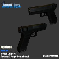 Glock 17 Model.