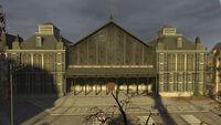 Trainstation facade
