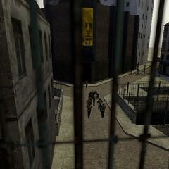 A random Combine Guard and Beta Metro cops in Beta City 17 streets.