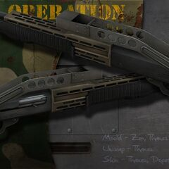 SPAS 12 Shotgun.