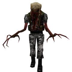 The Standard Zombie HECU grunt.