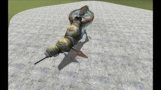 Combine Gunship - Animations
