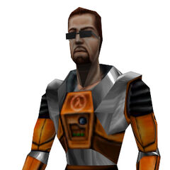 Gordon as he appears in <i>Opposing Force</i>.