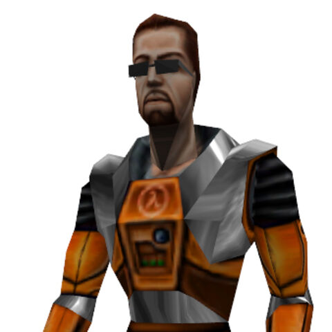 Gordon Freeman model from <i>Opposing Force</i>.