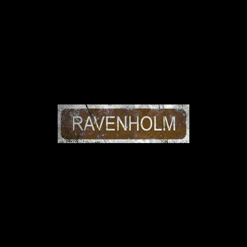 Ravenholm's sign.