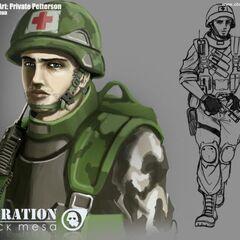 HECU Combat Medic.