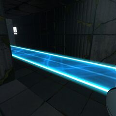The first light bridge introduced in the game.
