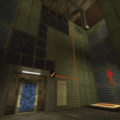Access granted to Sphere 04's Test Chamber 02.