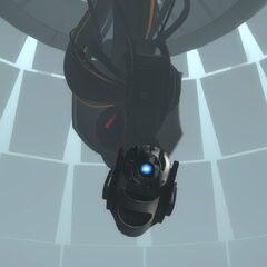 Wheatley controlling the Central AI body.