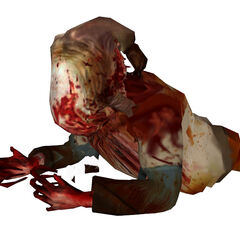 Beta Zombie torso, based on the early Beta model.