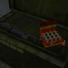 The SPAS-12 as first seen in <i>Half-Life</i>.