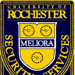 The actual University of Rochester Security Services crest.
