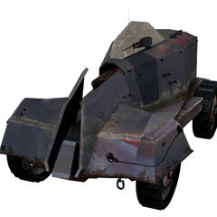 The current APC model, playable <i>Half-Life 2</i> Beta version, with a different texture.