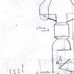 Schematics for the Lambda Reactor Core.