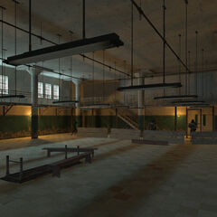 Newer version of the cafeteria in the map